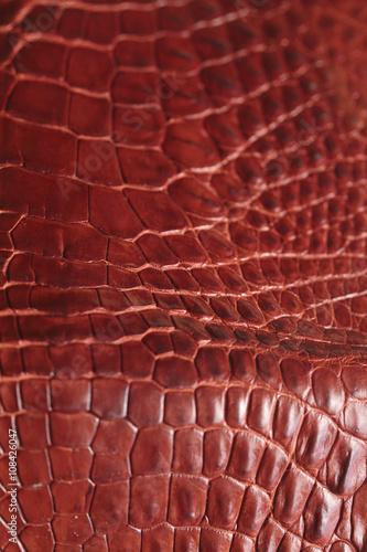 Staande foto Leder Alligator patterned background