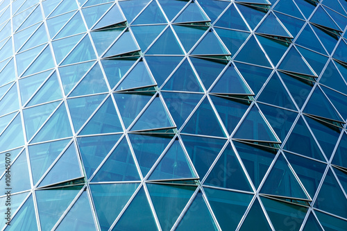 Highrise glass facade