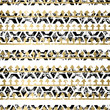 Gold and Black seamless pattern