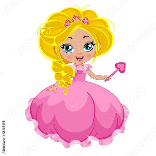 fototapeta na ścianę Маленькая принцесса