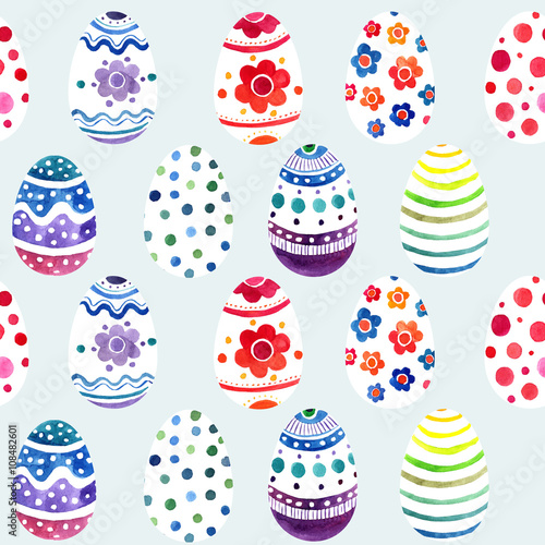 Materiał do szycia seamless ornament from painted eggs
