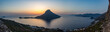 Obrazy na płótnie, fototapety, zdjęcia, fotoobrazy drukowane : View of Telendos from Kalymnos