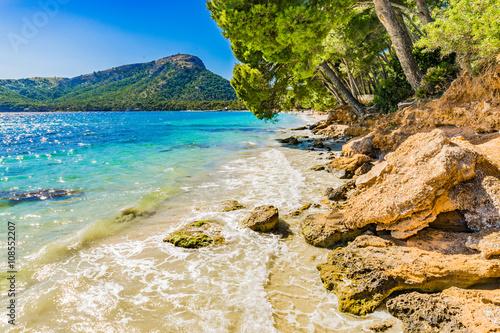 Zdjęcia na płótnie, fototapety, obrazy : Coastline Spain Majorca Beach Formentor