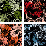 patterns of the fabulous plants