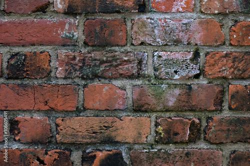 古いレンガの壁