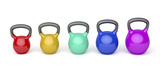 Kettlebells with different sizes
