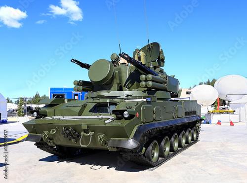 Poster Anti-aircraft defense complex Tunguska