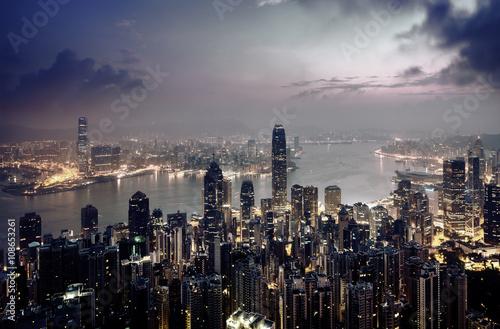 Hong Kong from the Victoria peak © Iakov Kalinin