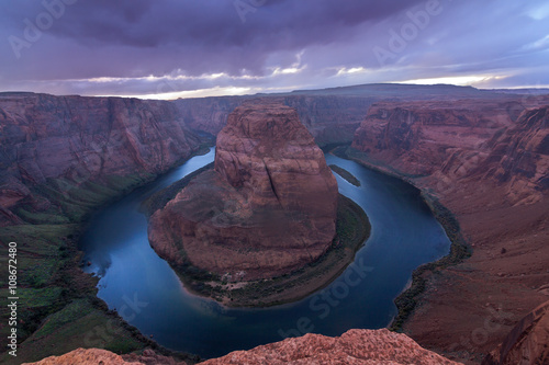 Tuinposter Canyon Nice Image of Horseshoe Bend