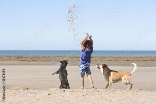 Jugando con Mascotas  Poster