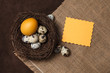 Obrazy na płótnie, fototapety, zdjęcia, fotoobrazy drukowane : Easter greeting card