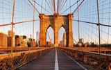 Fototapety Brooklyn Bridge, New York City, nobody
