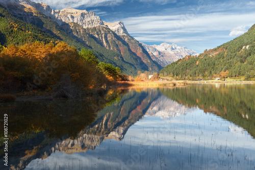Pineta valley in autumn