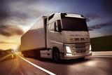 Truck on Street - 108740647