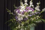 告別式の飾り花