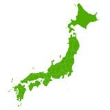 日本 地図 緑 アイコン - 108752029