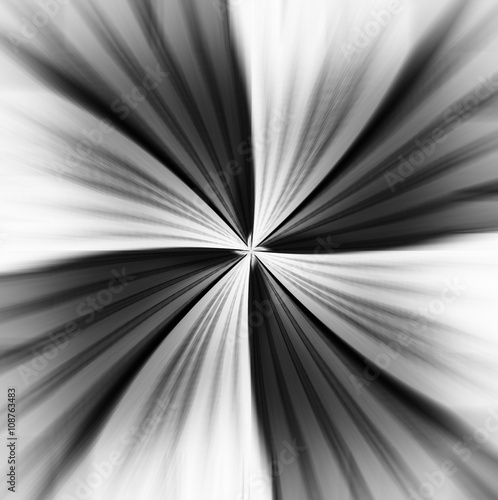 Horizontal motion blur teleport abstraction background - 108763483