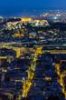 Obrazy na płótnie, fototapety, zdjęcia, fotoobrazy drukowane : Ateński Akropol w nocy widziany ze wzgórza Likavitos