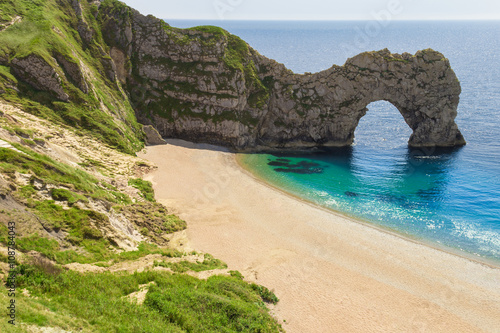 Poster Durdle Door Devon Cornwall South England