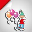 Obrazy na płótnie, fototapety, zdjęcia, fotoobrazy drukowane : happy children on  party design