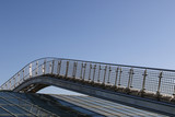 Fototapety Footbridge on the roof of Warsaw University Library