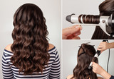 hairstyle curly hair tutorial - 108853442