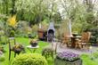 Quadro Garten im Frühling