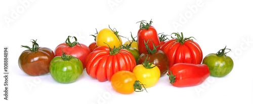 Keuken foto achterwand Verse groenten Tomates variétés anciennes
