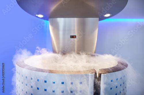Fototapeta Cryo sauna for whole body cryotherapy