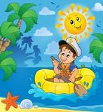 Little sailor theme image 2