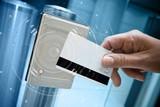 badge sécurité accès vigipirate portillon détecteur identit - 109027824