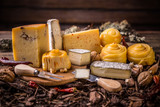 Handicraft cheeses