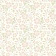 Vector vintage pastel seamless floral pattern.