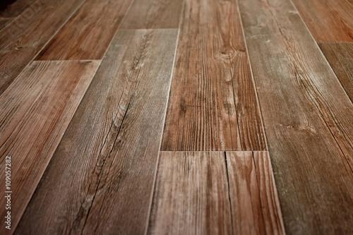 Foto Murales Holzfußboden - Parkett - Laminat