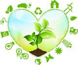 Cuore, Ecologia, Riciclo, Energia