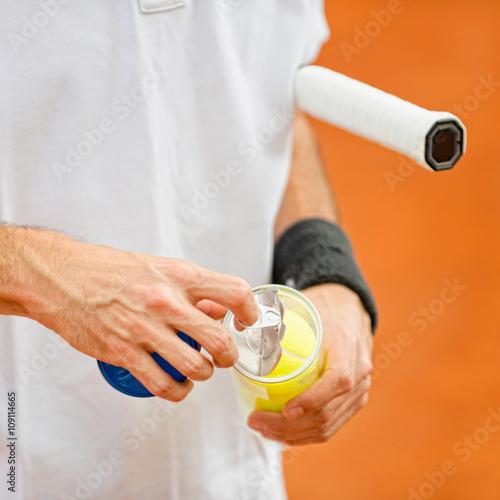 New tennis balls Tableau sur Toile