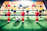 table football game, abstract light