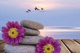 relax y bienestar en la playa - 109148229