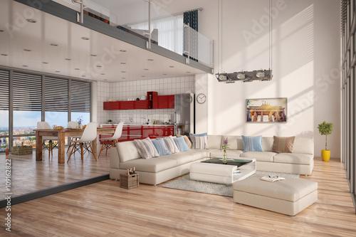 Gamesageddon minimalistisch modern eingerichtetes loft mit