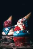 Sweet American cup cake