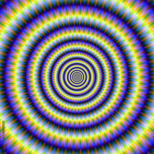 Hypnotic Concentric Rings