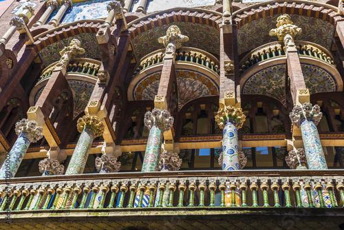 Póster Palau de la Música catalán (Palau de la Musica Catalana), Barcelona