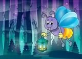Firefly with lantern theme image 3