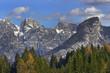 Panorama of Cereda Pass (Passo Cereda), Dolomite mountains - Italy, Europe, UNESCO World Heritage Site