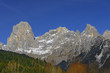 Valley Canali (Val Canali), mountain group Pale di San Martino, Dolomite mountains - Italy, Europe, UNESCO World Heritage Site