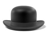 3d renderings of bowler hat