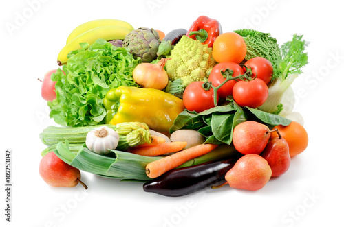 Poster Vegetables and fruits