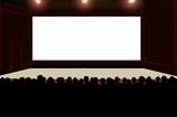 Cine, pantalla, público, espectadores