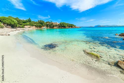 Plagát, Obraz Spiaggia del Principe in Costa Smeralda, Sardinia