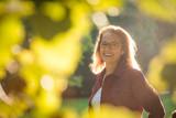 Mature woman outdoor portrait